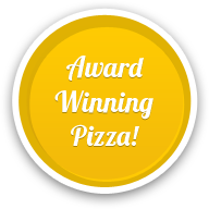 Award winning pizza