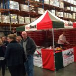 Live Mobile Pizza Lunch in the Warehouse