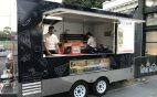 Pizza Food Truck rolling out pizzas