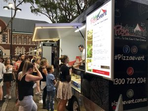 Pizza Truck now Rolling