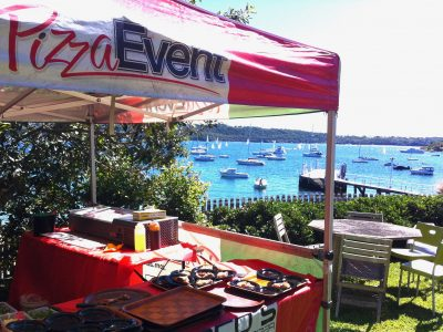 Mobile Pizza Lunch Catering - Live - Eastern Suburbs Sydney