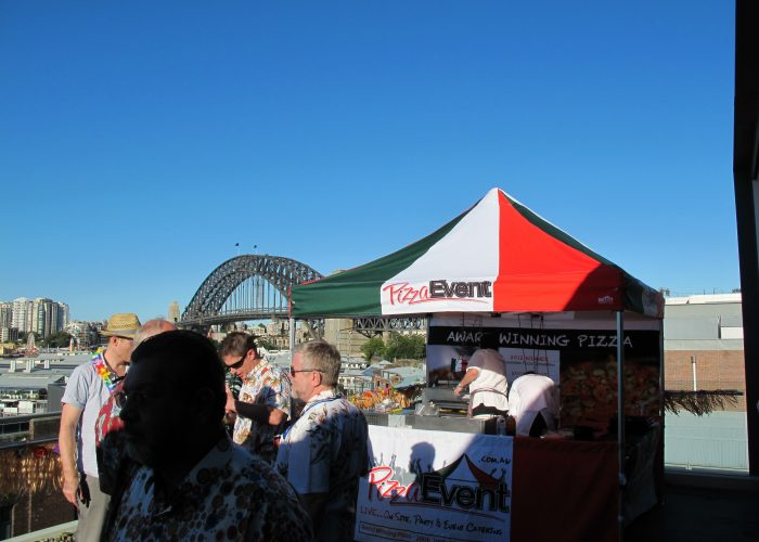Sydney Harbour - Corporate Mobile Pizza Catering